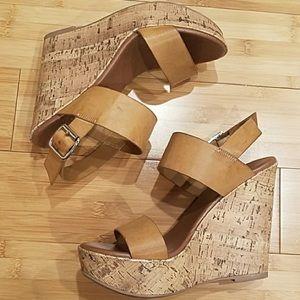 Mossimo Cork Wedge Heel Sandals